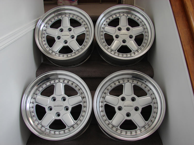 Fs Ac Schnitzer Type 1 3 Piece 17x8 5 Wheels