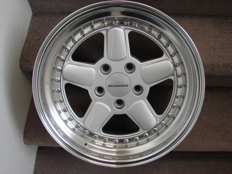 Fs Ac Schnitzer Type 1 3 Piece 17x8 5 Wheels
